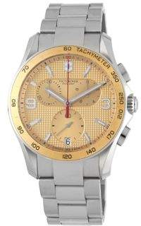 Victorinox Stainless Steel Chronograph Water-Resistant Bracelet Watch