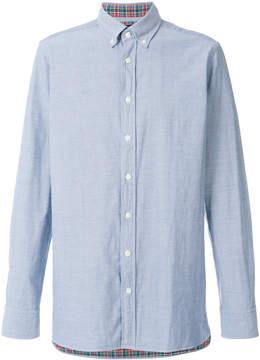 Hackett buttoned down collar shirt