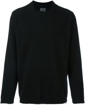 Laneus zip detail sweatshirt