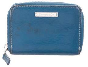 Tiffany & Co. Leather Compact Wallet
