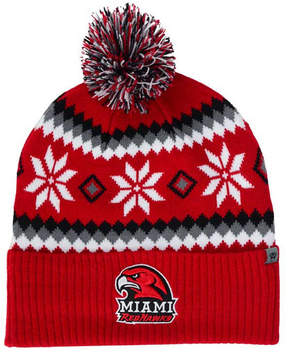 Top of the World Miami (Ohio) RedHawks Fogbow Knit Hat