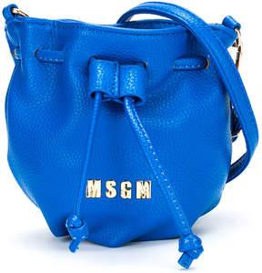 MSGM bucket shoulder bag