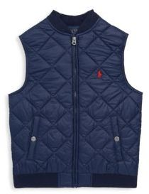 Ralph Lauren Toddler's, Little Boy's & Boy's Quilted French Vest