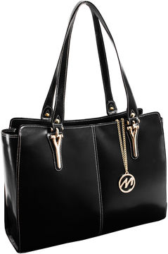 Mcklein McKleinUSA Glenna Leather Tote with Tablet Pocket