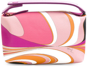 Emilio Pucci printed toiletry bag