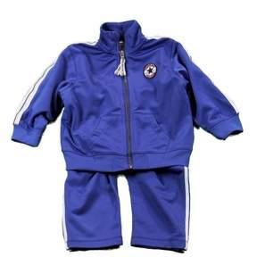Converse Infant/Toddler Boy's Blue Track Pant & Jacket 2-Piece Set
