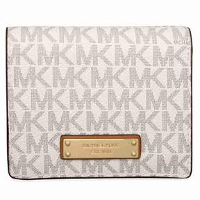 Michael Kors Jet Set Card Holder- Vanilla - AS SHOWN - STYLE