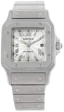 Cartier Santos Galbee W20055D6 Stainless Steel Automatic 29mm Mens Watch