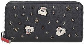 Christian Louboutin Panettone Black Leather Wallet
