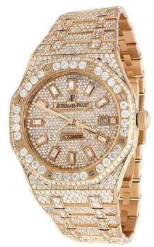 Audemars Piguet Royal Oak 15400OR.OO.1220OR.02 18K Rose Gold 41mm Mens Watch