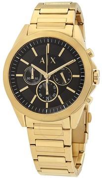 Armani Exchange Drexler Chronograph Black Dial Men's Watch