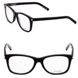 Saint Laurent 54MM Rectangular Optical Glasses