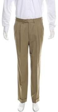Luciano Barbera Pleated Wool Pants