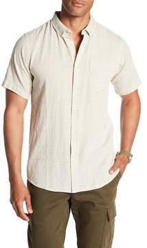 Ezekiel Railed Short Sleeve Woven Regular Fit Shirt