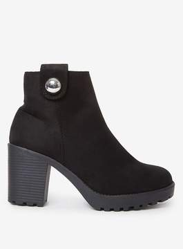Dorothy Perkins Black 'Malice' Ankle Boots