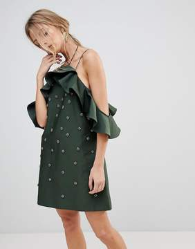 C/Meo Collective Collective Assemble Embellished Dress