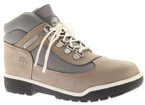 Timberland Unisex Children's Junior Leather and Fabric Field Boots
