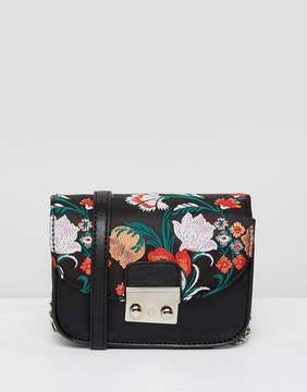 French Connection Embroidered Crossbody Bag