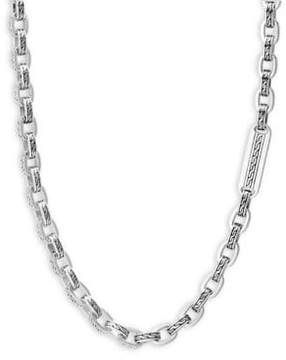 John Hardy Silver Classic Chain Necklace