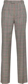 Alexander McQueen checked wide leg trousers