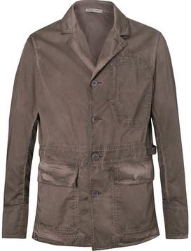 Bottega Veneta Garment-Dyed Cotton Blazer