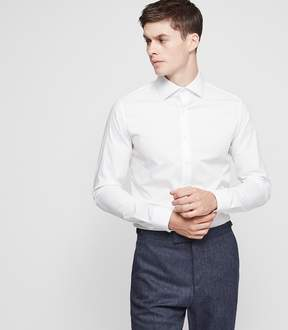 Reiss Oxide Slim-Fit Stretch Shirt