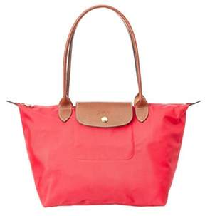 Longchamp Le Pliage Small Nylon Tote. - RED - STYLE