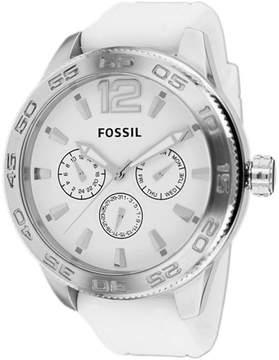 Fossil BQ1163 Men's Qualifier White Silicone Watch