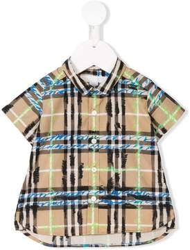 Burberry Scribble Check shirt