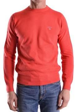 Gant Men's Orange Cotton Sweater.