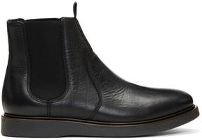 H By Hudson Black Brooksby Chelsea Boots