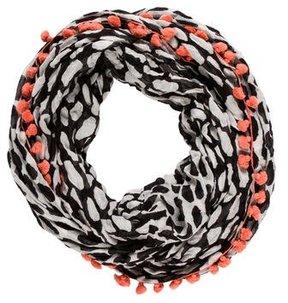 Diane von Furstenberg Embellished Infinity Scarf