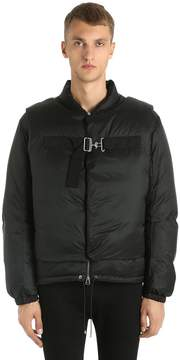Oamc Down Jacket W/ Detachable Front Overlays