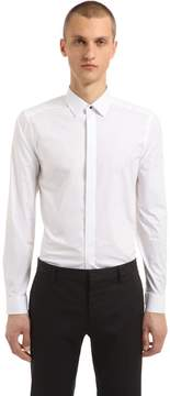 Eton Super Slim Cotton Poplin Shirt