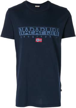 Napapijri logo print T-shirt