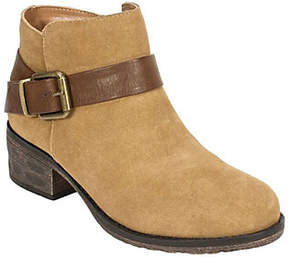 White Mountain Suede Leather Booties - Mistral