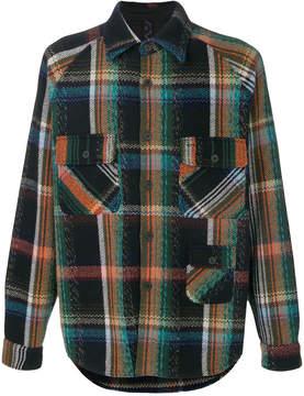 Missoni plaid print shirt