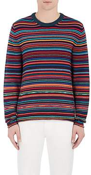Paul Smith Men's Striped Merino Wool-Cotton Sweater