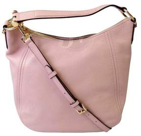 Michael Kors New Leather Fulton Large Tz Shoulder Bag Convertible Blossom Pink - ONE COLOR - STYLE