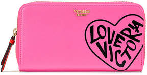 Victoria's Secret Victorias Secret Love Victoria Zip Wallet