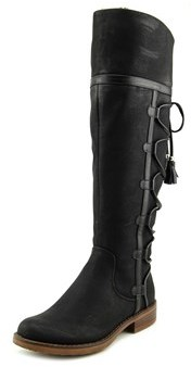 XOXO Selby Round Toe Synthetic Knee High Boot.