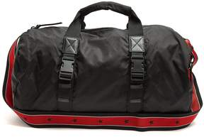 Givenchy Leather-trimmed nylon holdall