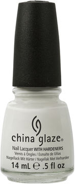 CHINA GLAZE China Glaze White On White Nail Polish - .5 oz.
