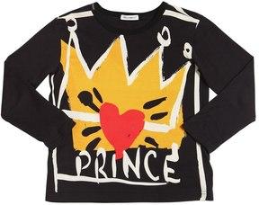 Dolce & Gabbana Prince Printed Cotton Jersey T-Shirt