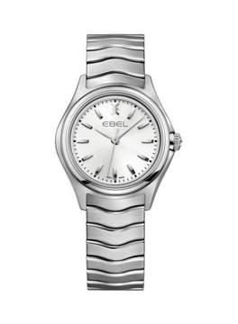 Ebel Wave Silver Dial Stainless Steel Ladies Watch