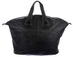 Givenchy Leather Zip Satchel