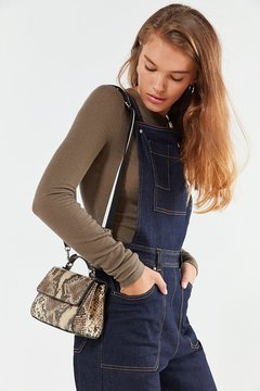 Urban Outfitters Sem Faux Snake Crossbody Bag