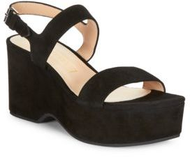 Marc Jacobs Lily Suede Platform Wedges