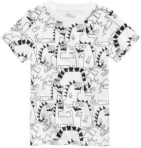 Epic Threads Dino-Print T-Shirt, Little Boys (4-7), Created for Macy's