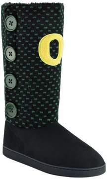 NCAA Women's Oregon Ducks Button Boots